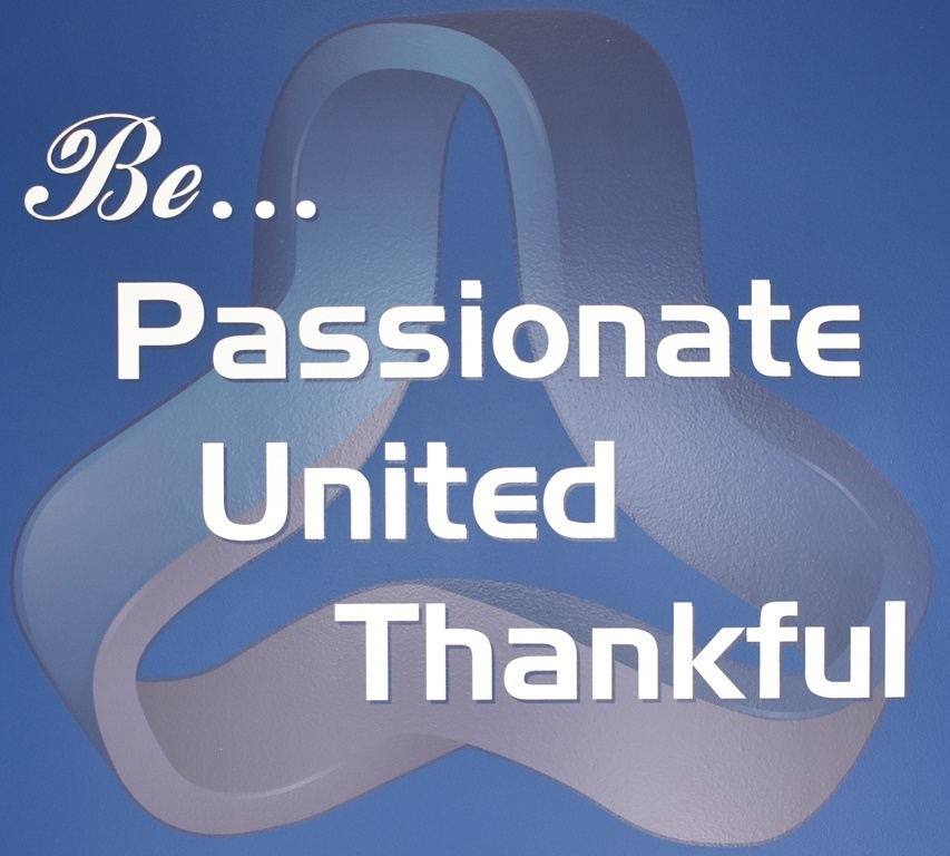 Nysus Solutions Core Values: BE UNITED